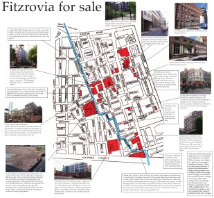 fitzrovia news for sale map
