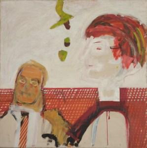 Howard Hodgkin's portrait of Adrian and Corinne Heath