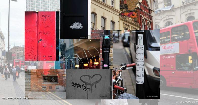 Graffiti collage.
