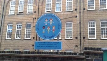 Sing outside school.
