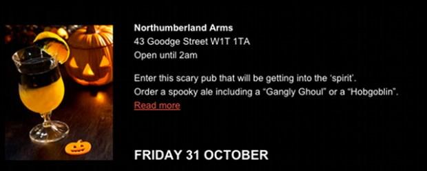 Northumberland Arms.