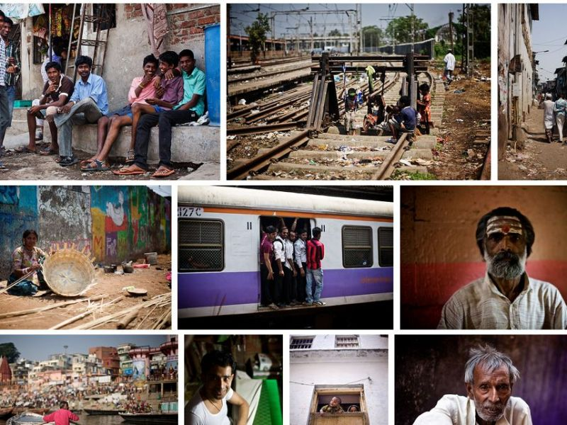 Photographs from India.