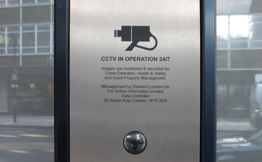 CCTV in operation 24-7.
