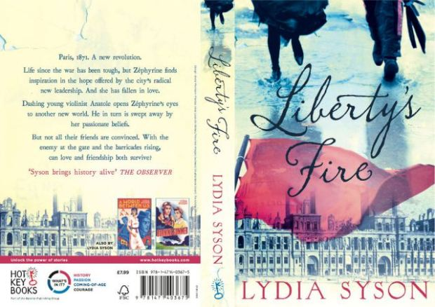 Cover of book.