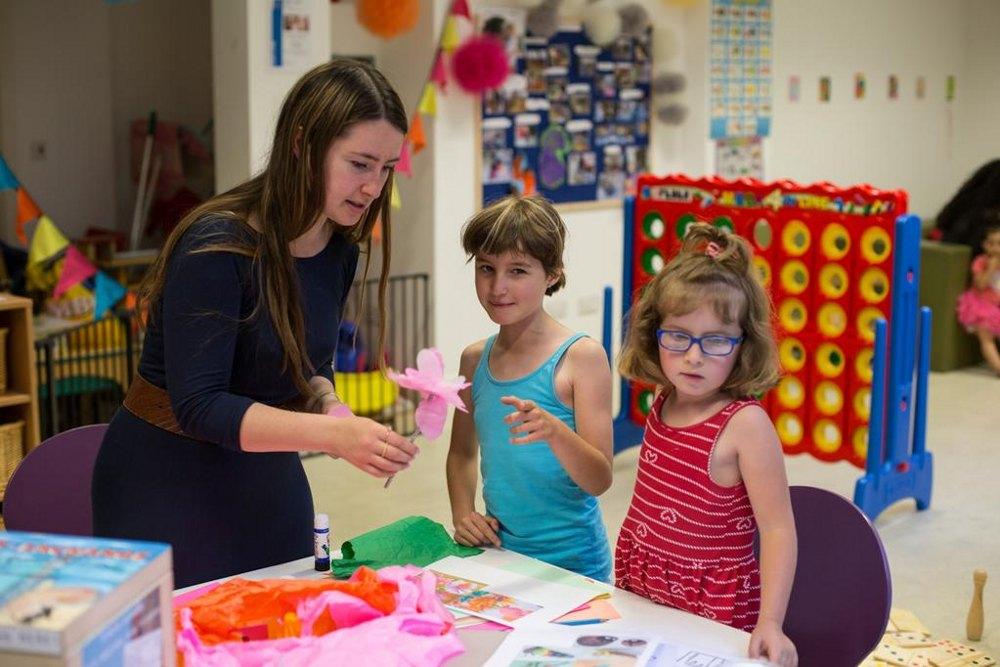 Art activities for children.