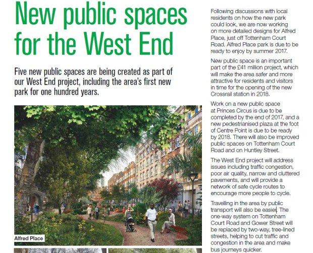 Feature in Camden magazine.