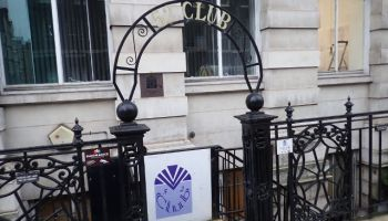 Entrance to The 52 Club.
