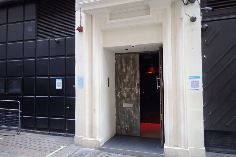 Entrance to building.