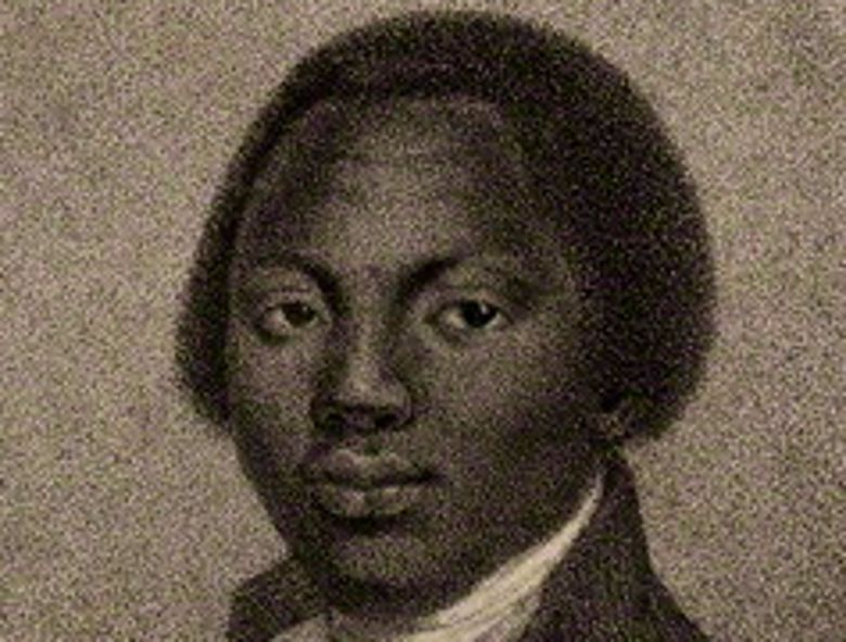 Painting of Olaudah Equiano.