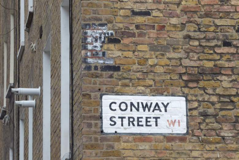 Southampton Street ghost sign.