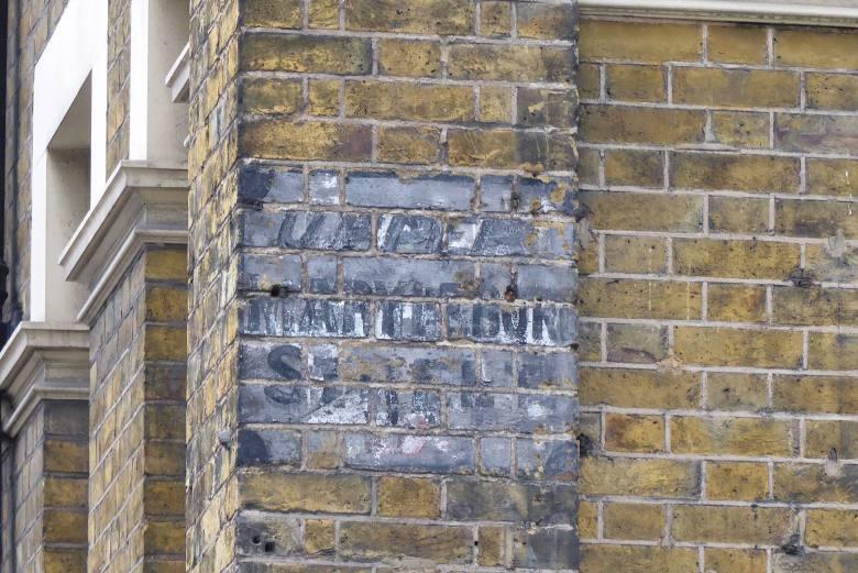 Upper Marylebone Street. Ghost sign.