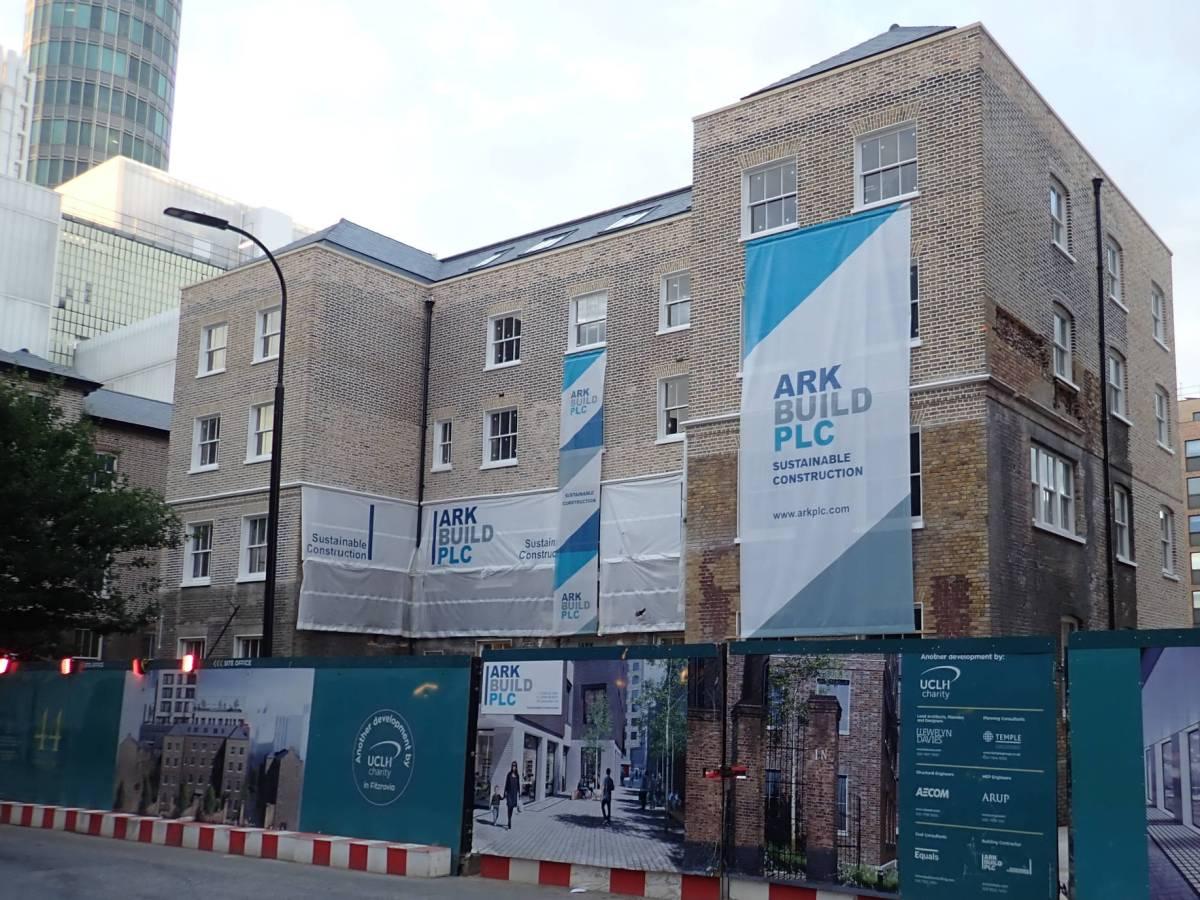 Middlesex Hospital Annex site.