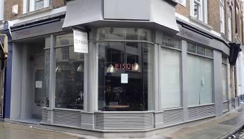 View of premises at 23 Rathbone Street.