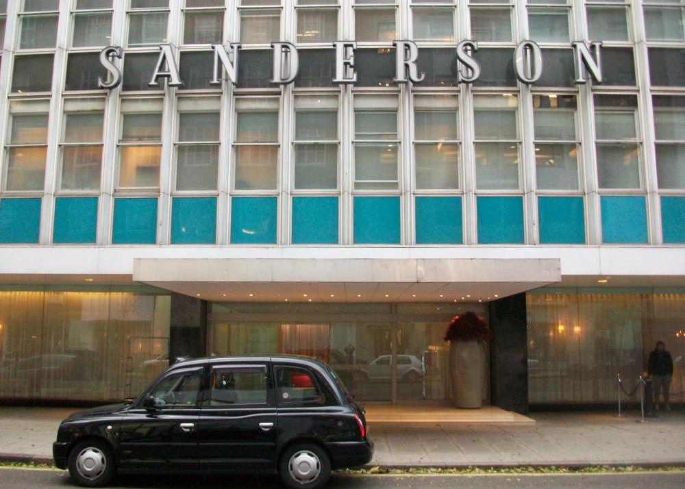 Sanderson owners plan refurbishment of fabulous showrooms