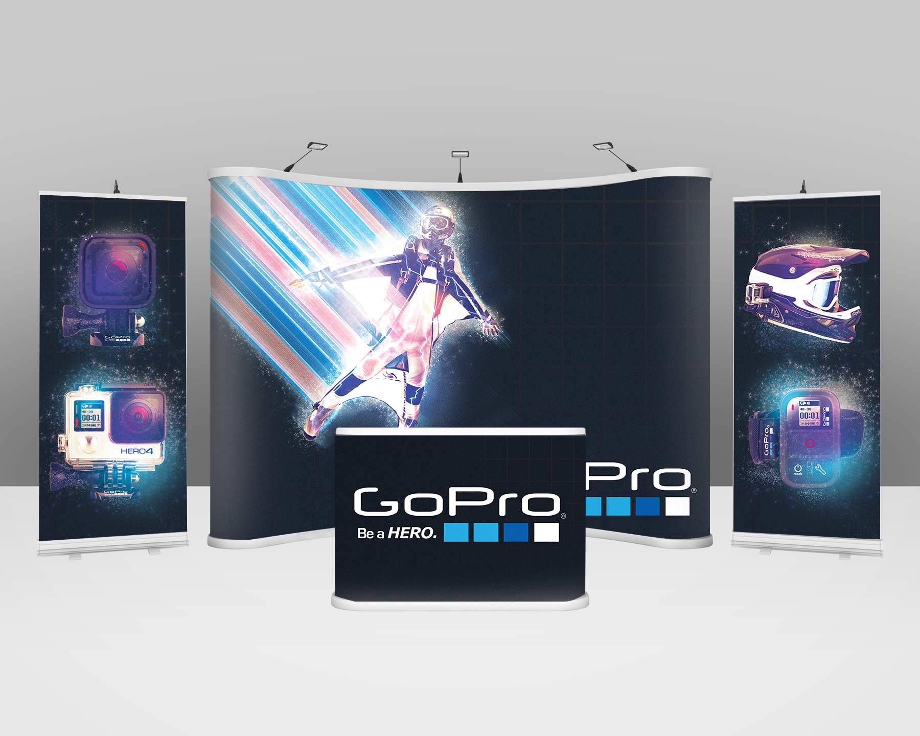 tradeshow exhibition booth roll