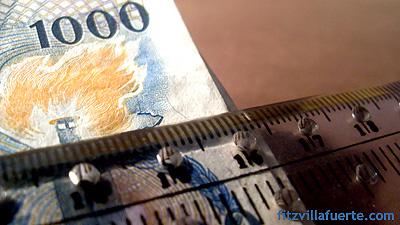 How Big Is One Million Pesos?