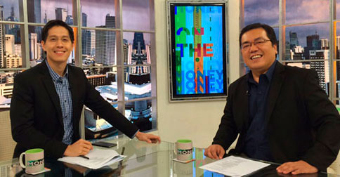 With host, Edric Mendoza, in ANC On The Money