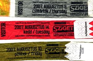 Sziget 2007 tickets