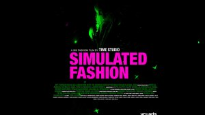 Simulated_Fashion 2020 Poster