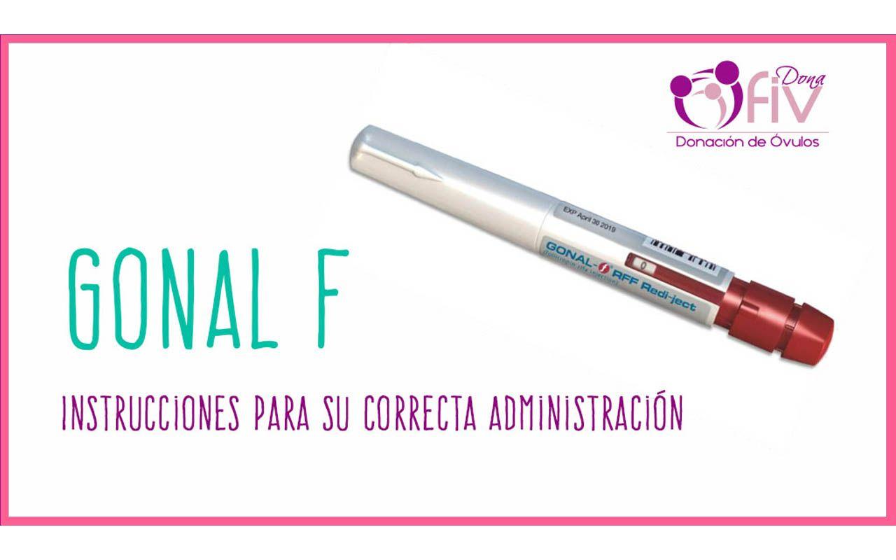 Gonal F - FIV DONA | Donantes de Óvulos
