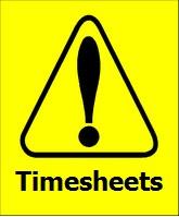 time sheet reminders five