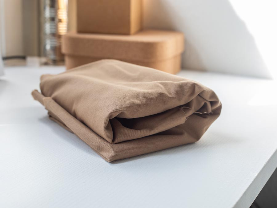 Mind the Maker <br>Washed Cotton Twill, 9oz — Straw <br>SGS certified