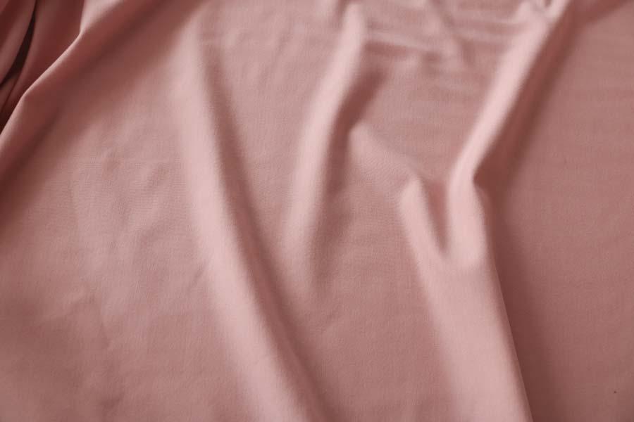 Bamboo Cotton Stretch Fleece -- Mellow Rose