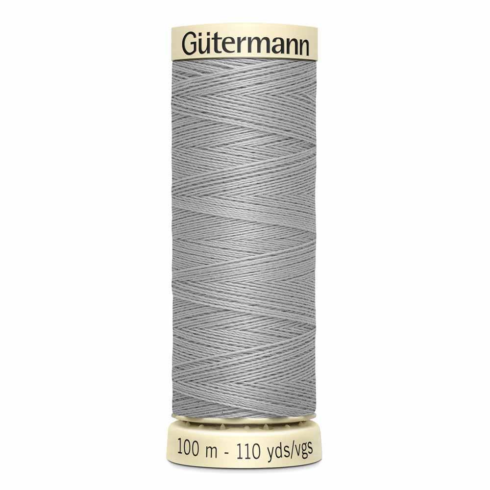 Gütermann Polyester Sew-All Thread 100m -- Mist Grey #102