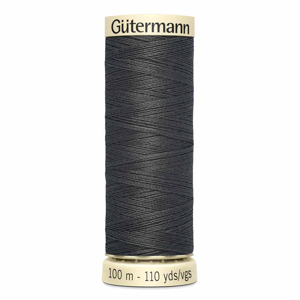 Gütermann Polyester Sew-All Thread 100m -- Charcoal #125