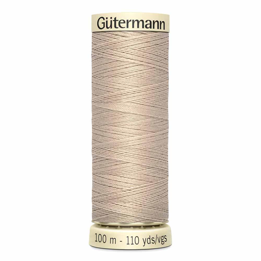 Gütermann Polyester Sew-All Thread 100m -- Sand #506