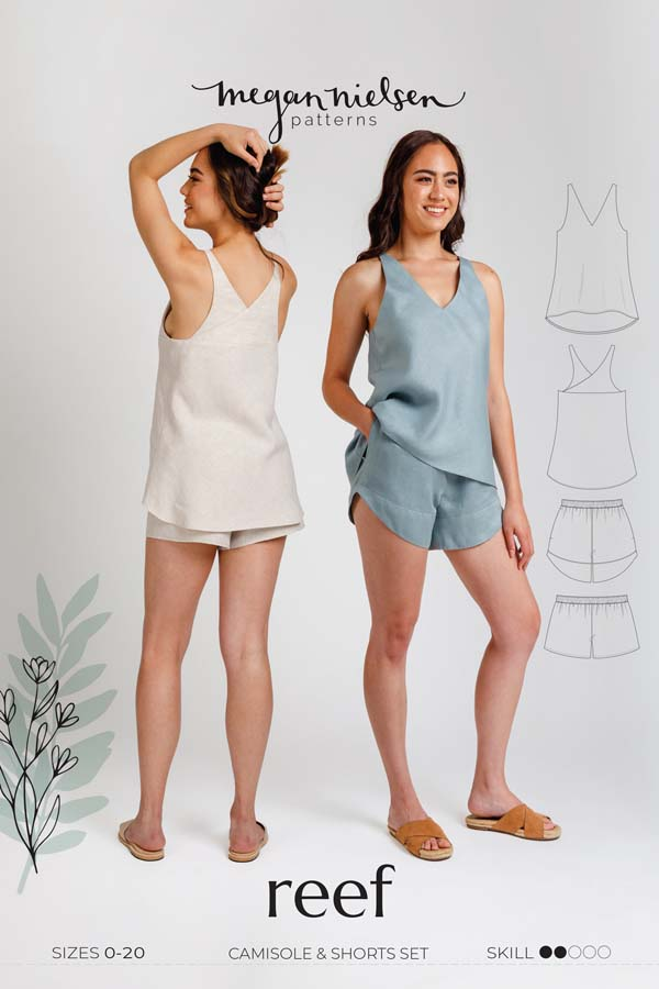 Megan Nielsen Reef Camisole & Shorts