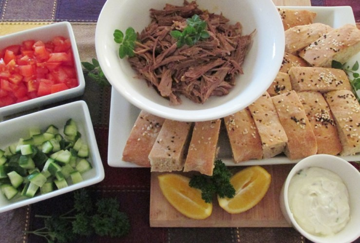Do ahead dinner: Delicious Moroccan style lamb in the slow cooker