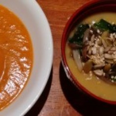 sumac roasted sweet potato and magic soup