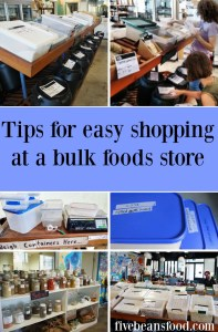 Try these ideas for smooth shopping when you are thinking beyond the supermarket and want to try your local bulk foods store