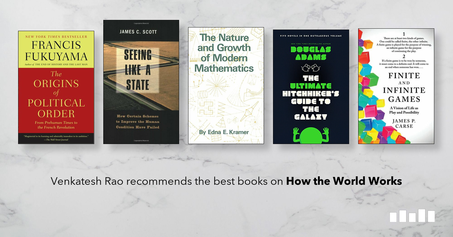 The Best Books on How the World Works  Five Books