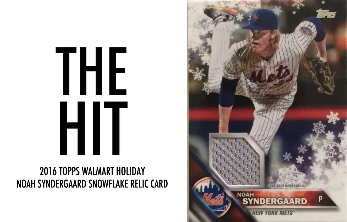 Review 2016 Topps Baseball Holiday Box With Video Of The Box Break
