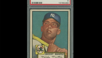Iconic Mickey Mantle 1952 Topps Baseball Card Up For Auction