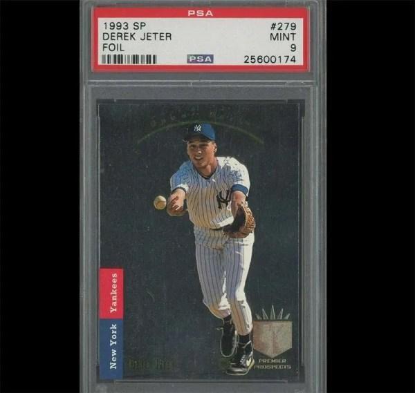 Derek Jeter 1993 SP Foil rookie card