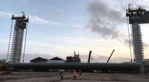 Nuovo viadotto Polcevera: ultime limature per l'impalcato da 100 metri, rinviato il varo