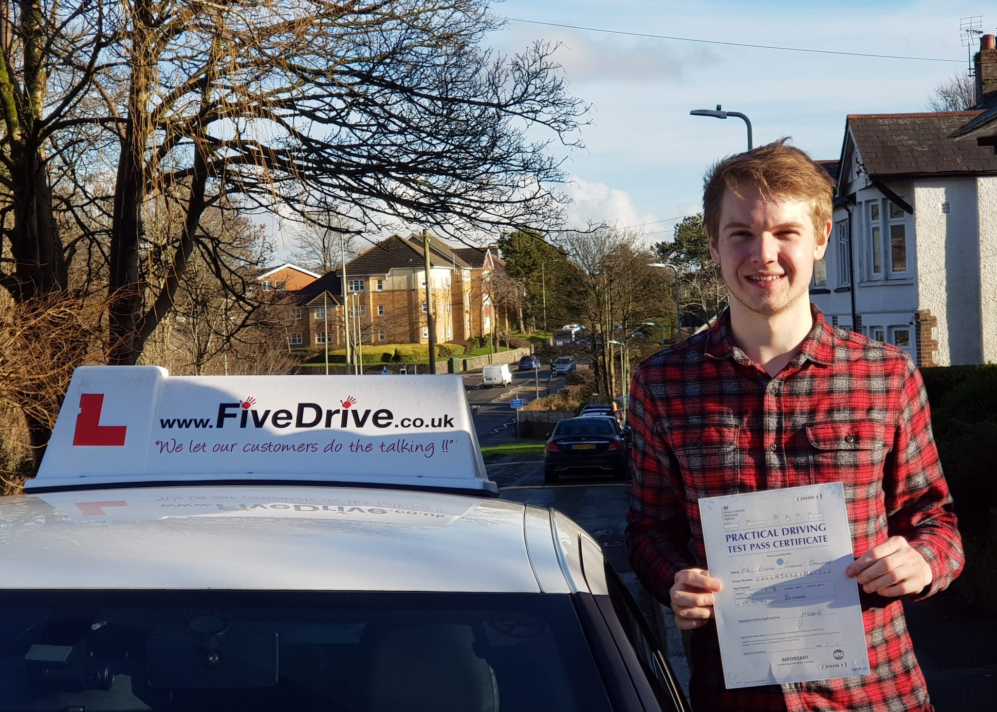 Driving Lesson Reviews Bridgend Ethan Chalmers