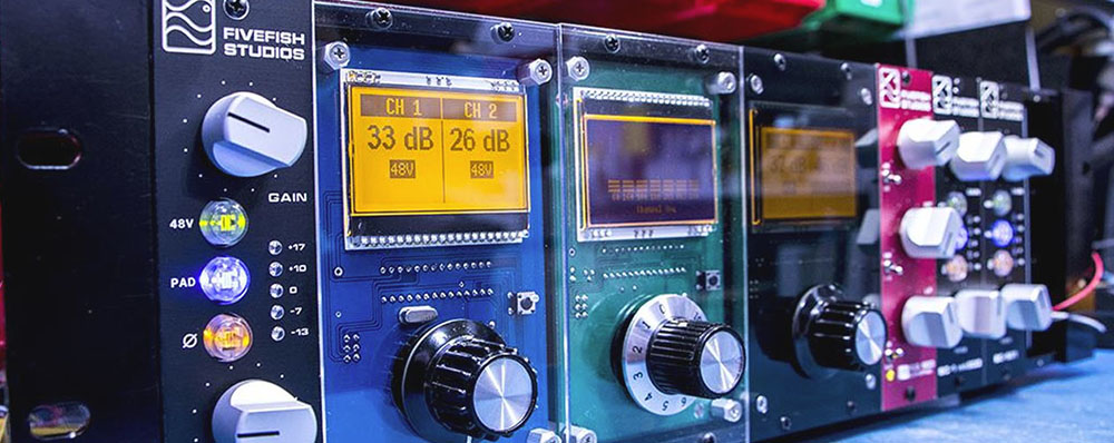 Fivefish Audio  Diy Mic Preamp Kits, 500 Series Kits, Vpr