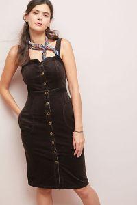 Anthropologie Brown Dress