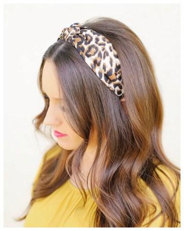 FiveFootFeminine in Leopard Headband