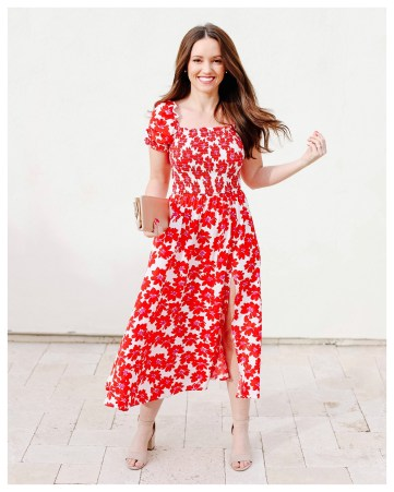 Spring Dress on Five Foot Feminine