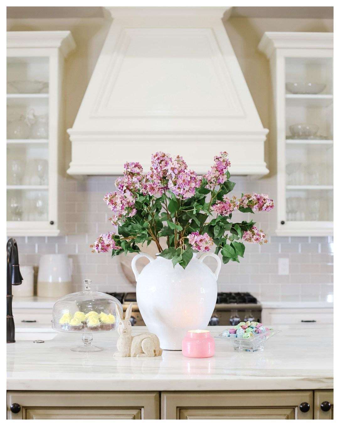 Faux Lilac stems