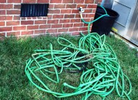 Garden Hose Holders and Hose Reels