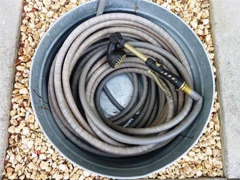 Garden Hose Holders And Hose Reels Five Gallon Ideas
