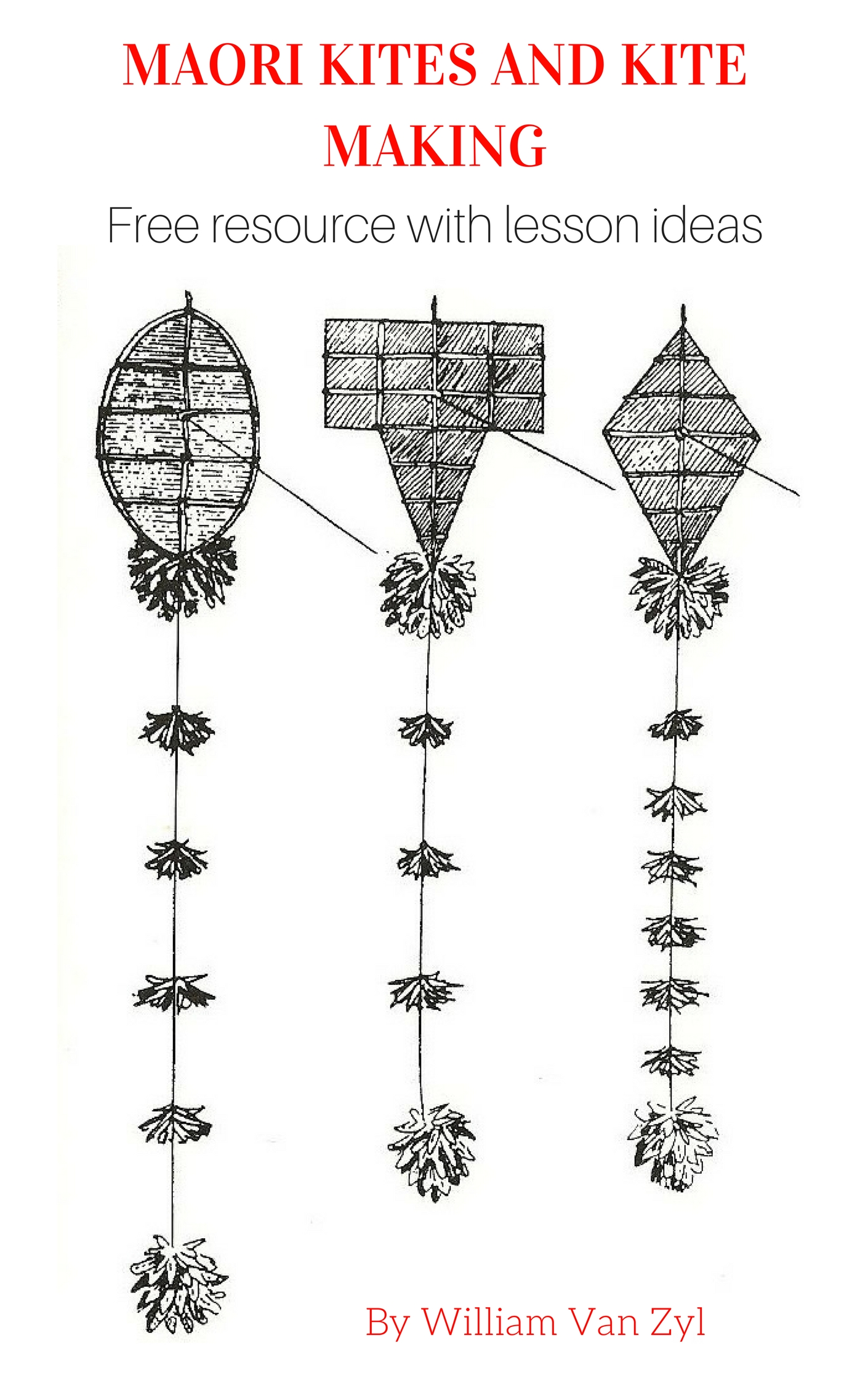 Maori kites and Kite Making. Free resources with lesson