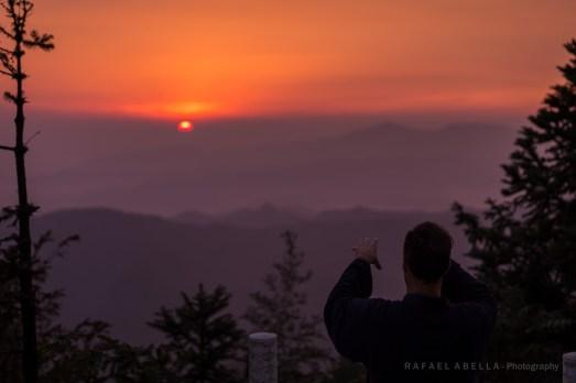 wudang sunset