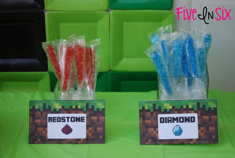 Free Minecraft Printable Food Labels Sticks Foodfash co